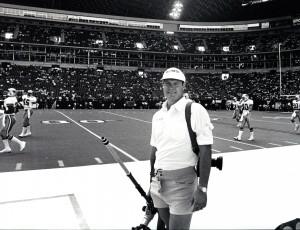 Bill Fox, Texas Stadium 49ers vs Cowboys October 15, 1989