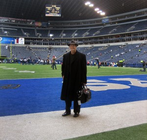 Honoring Tom Landry, my last game at Texas Stadium, 49ers vs. Cowboys, Sunday, November 23, 2008