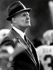 Tom Landry, 49ers vs Cowboys, Candlestick Park, December 23, 1985