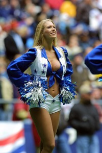 The Quintessential Dallas Cowboy Cheerleader, Texas Stadium, December 30, 2001