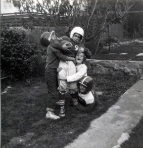 1957 Backyard Football on 23rd Avenue,  The Big Man was hard to sack in those days. You had to come to play and fight for every yard. It was Root-Hog or Die Football. We had some damn good hittin' and great games!!!