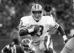 Roger Craig, 49ers vs. Chargers -- August 23, 1987